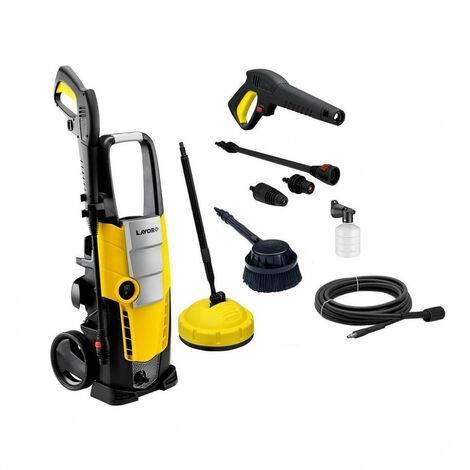 Lavor - Limpiador de alta presión de 3 pistones! 150 Barras 2100W 450/h con limpiador de terraza + Accesorios - Galaxy 150