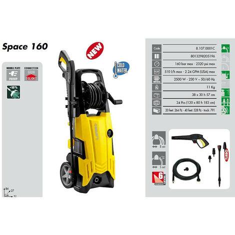 Lavor - Nettoyeur haute pression 160 Bars 2500W 510L/h + Brosse fixe - SPACE 160