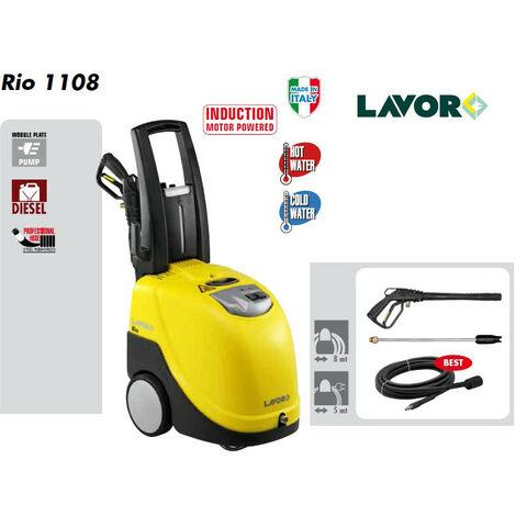 Lavor - Nettoyeur haute pression Eau chaude 145 Bars 450L/h - RIO 1108