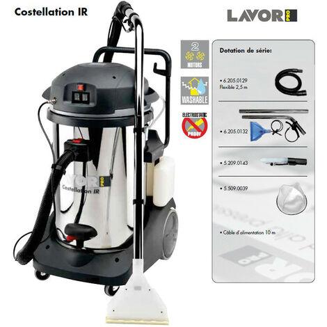 Lavor Pro - Aspirateur injecteur-extracteur 2400W silencieux 2 moteurs 108l/s - COSTELLATION IR
