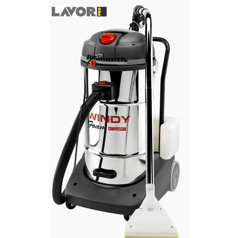 Lavor Pro - Aspirateur / injecteur-extracteur avec dispositif pour air comprimé 2400W max. 130l/s - WINDY IE FOAM COMPRESSOR