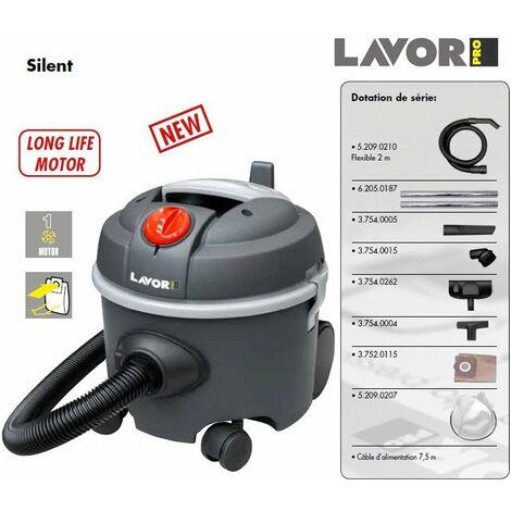 Lavor Pro - Aspirateur poussières Silencieux 800W 12L 44l/s 24 kPa - SILENT
