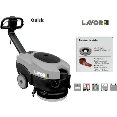 Lavor Pro - Autolaveuse compacte 460 mm 370W 1260 m²/h - Quick 36E