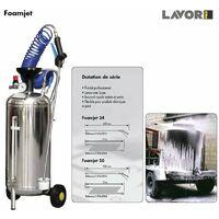 Lavor Pro - Pulvérisateur de mousse inox 24L 6bar lance 600mm - FOAMJET SX24