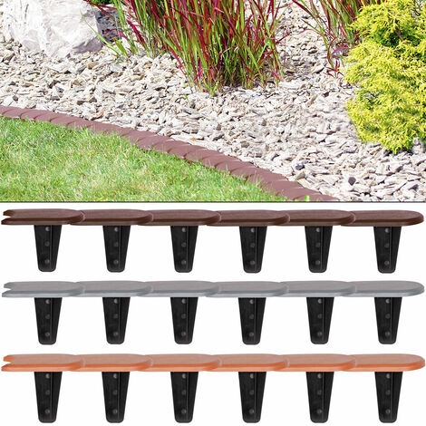 Lawn Edge Garden Boarder Palisade Fence Border Edging