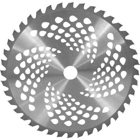 Lawn mower blade brush trimmer alloy 40 teeth 255mm diameter blade