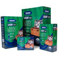 Lawn Seed Fertilizer Johnsons Lawn Seed Luxury Lawn 500g Carton Fast Action Feed