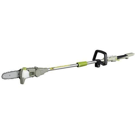LAWNMASTER Elagueuse sans fil sur perche - 20 cm - 36 V - Sans batterie ni chargeur - Vert et gris