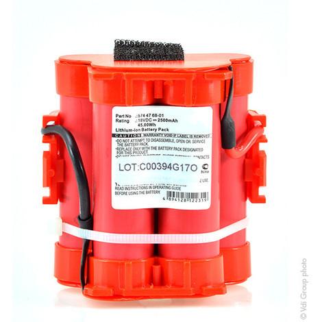Lawnmower battery 18V 2.5Ah - 505 69 73-20,505697320,574 47 68-01,574 47 68-02,5