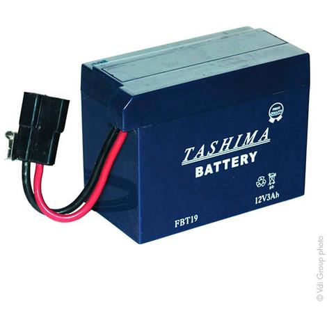 Lawnmower battery FBT19 12V 3Ah - 12680,FBT19