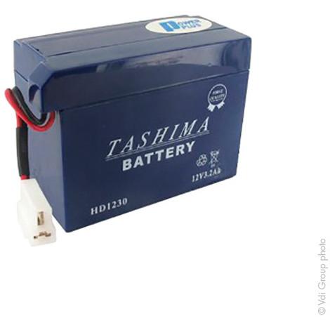 Lawnmower battery HD1230 12V 3Ah - HD1230,31500VA3P01,LCS2912H