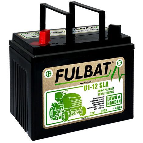 Lawnmower battery U1-32 / U1-12 12V 32Ah - U1-12,U1-32,U132,MOT8648,GEL12-30,GEL