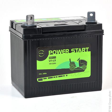 Lawnmower battery U1-9 / U1-L9 / NH1222L 12V 23Ah - U1-9,U1-L9,U19,U1L9,725-1705
