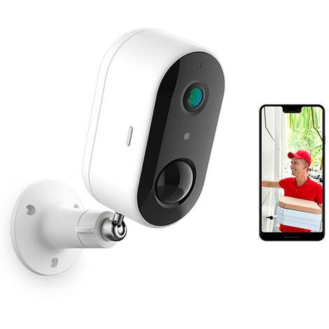 Laxihub - Caméra extérieure Wifi / IP sur batterie + MicroSD 32GB