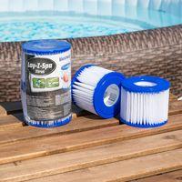 Lay-Z-Spa - Bestway Filter Cartridge VI for Miami, Vegas, Monaco 58323, 58239