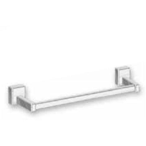 Lazzarini Dalia - Porte-serviettes barre magnétique pour radiateurs sèche-serviettes, en ABS chromée. Longueur 400 mm (code 385033)