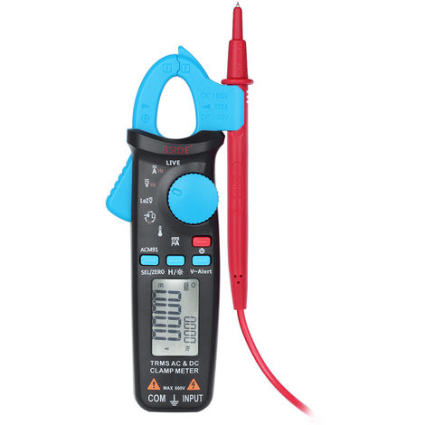 LCD digital clamp meter multimeter shipped without battery ACM91