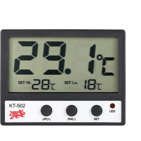 LCD Digital Fish Tank Aquarium Thermometer C/F High/Low Temperature Alarm