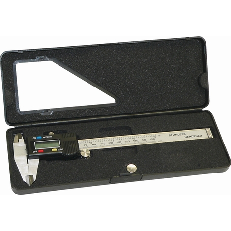 LCD Digitale Schieblehre 0-150 mm Triuso MSDIGI2