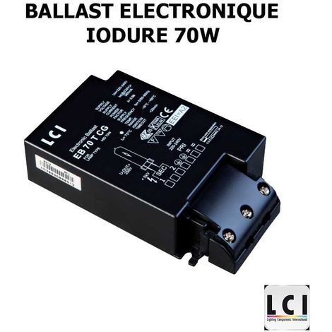 LCI EB70TCG yoduro de balasto electr