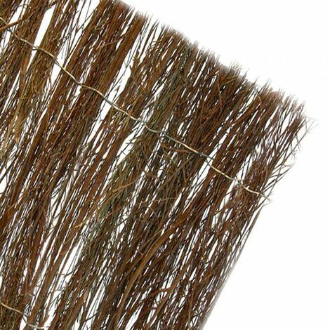 Le brun foncé chiné naturel mesure 1,5x5m (85% de dissimulation)