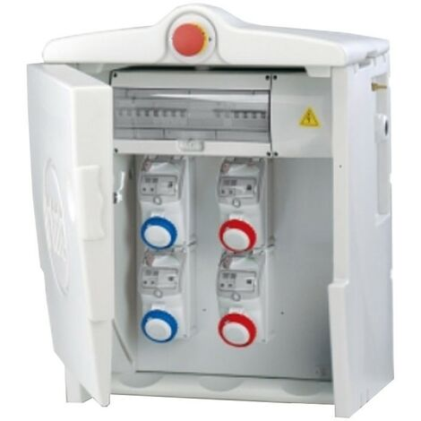 Le cadre Fanton Polifemo Midi-ASC IP55 avec bouton d'urgence 74673