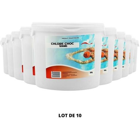 Le CHLORE CHOC GRANULÉS - Swimmer - Plusieurs modèles disponibles