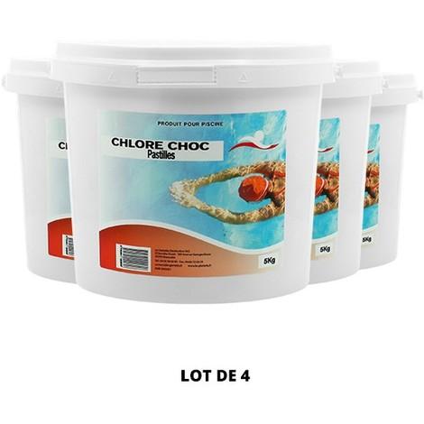 Le CHLORE CHOC PASTILLES - Swimmer - Plusieurs modèles disponibles