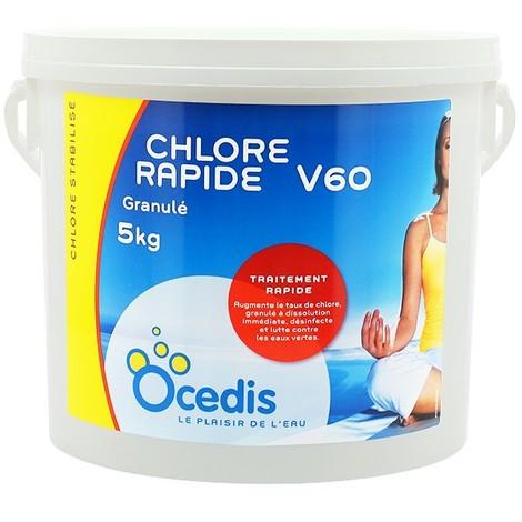 Le CHLORE RAPIDE V60 - Ocedis - Plusieurs modèles disponibles