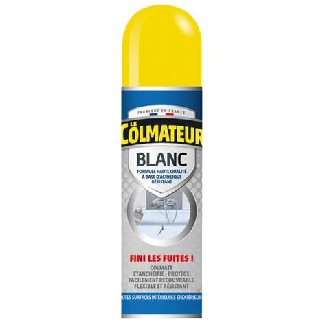 LE COLMATEUR - Colmateur spray bitume d'étanchéité - blanc - 250 mL