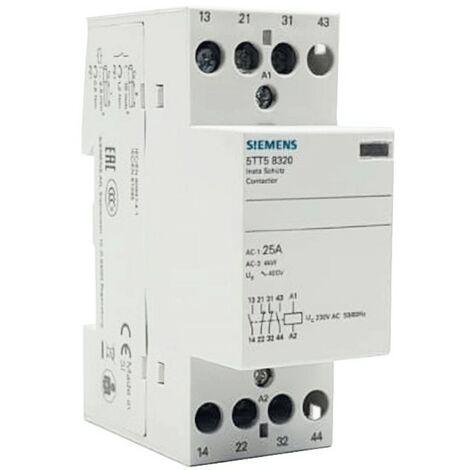 Le contacteur de Siemens 25A 2NO+2NC 230VAC 2 Modules