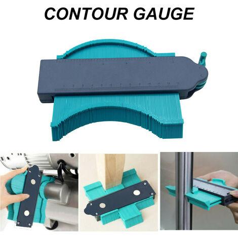 Le duplicateur de contour de forme de jauge de profil tuile la formation de bord de tuiles de stratifié