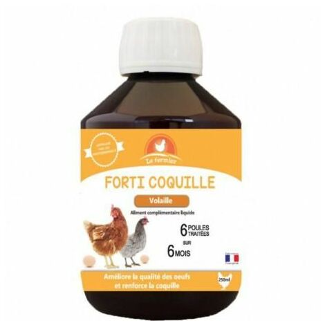 Le fermier forti coquille 250ml