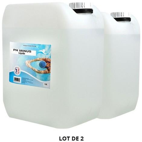 pH Minus liquide - 2x10L de Swimmer - Produits chimiques