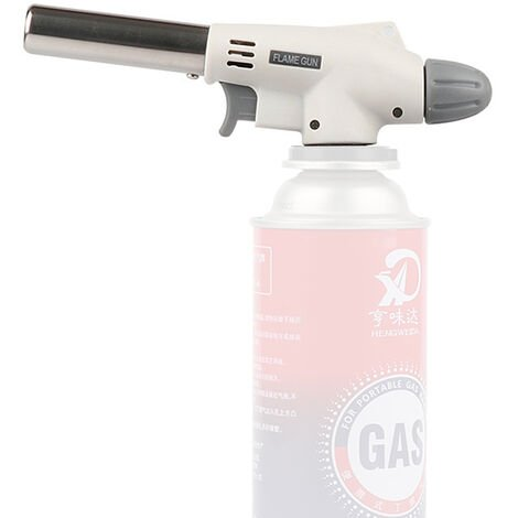 Le pistolet de pulverisation a cassette utilise une torche de soudage au chalumeau a gaz a flamme nue Tete de torche Wansheng butane 920