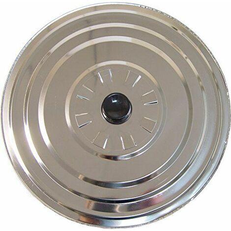 Le Renard-61311-Couvercle Aluminium Anti buée Diamètre 30 cm