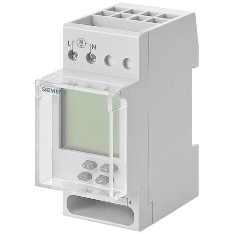 Le temps de commutation numérique Siemens hebdomadaire 1NO/NC 230V 2M 7LF45110