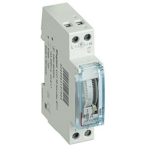 Le temps de l'interrupteur Legrand MICROREX analogique quotidien 412790