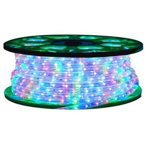 Le tube de lumière de Noël Wimex couleur Multicolore bobine 45 Mètres 4502025