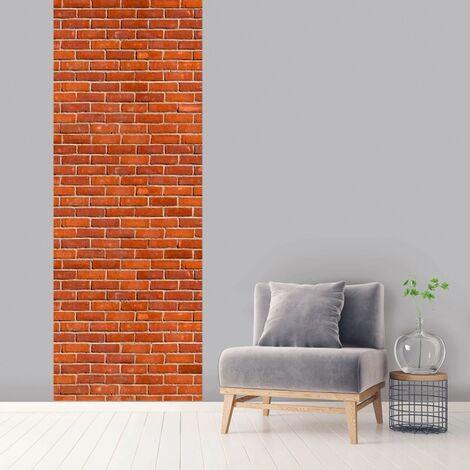Lé unique vertical Brica 100 x 270 cm - Orange