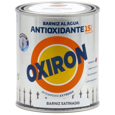 Le vernis antioxydant Titan Oxiron à l'eau Satin 750ML
