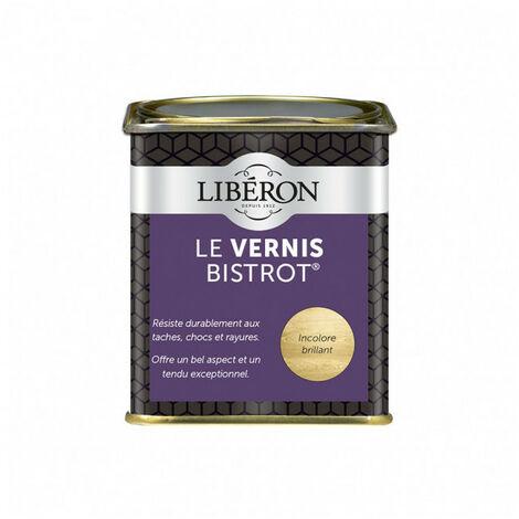 """main image of """"Le vernis bistrot incolore brillant LIBERON - Ton / Contenance: Incolore brillant / 250 ml"""""""