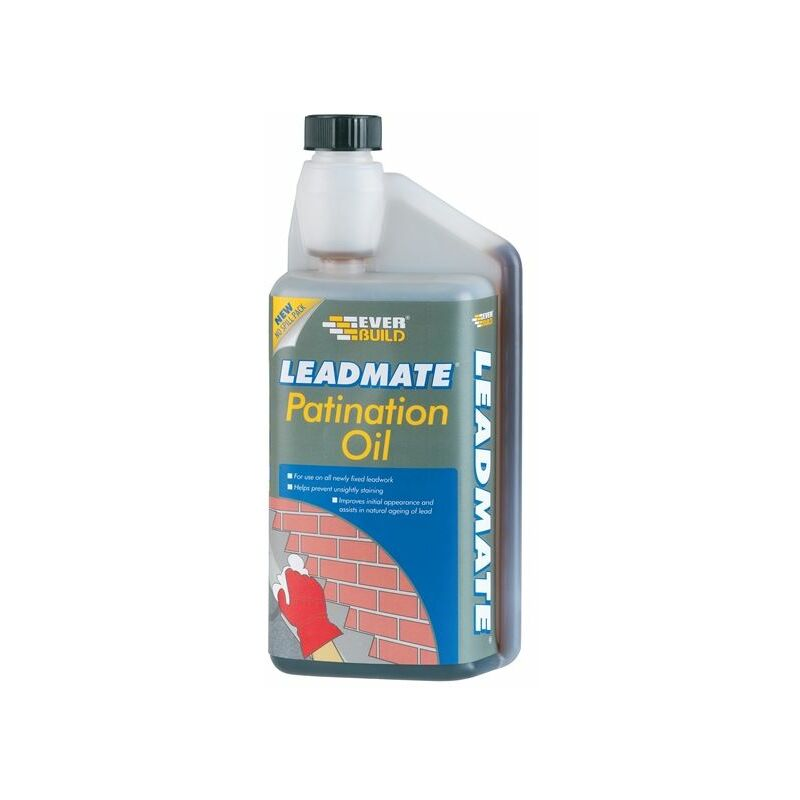 Image of Lead Mate Patination Oil 500ml ( PATOIL500) - EVB