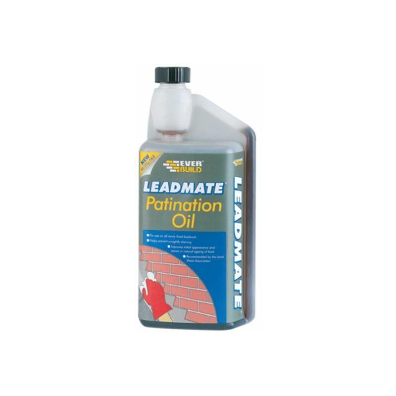 Image of Lead Mate Patination Oil 1 litre ( PATOIL1L) - EVB