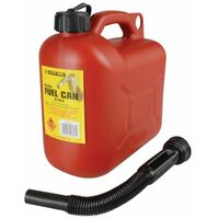 Leaded Petrol Can & Spout Red 5 Litre (D/ICAN1)