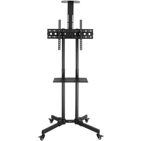 """Leadzm TSY 1600 32-70"""" TV Mobile Cart Weight Bearing 60kg Maximum VESA 400*600 Up and Down Adjustable 15¡ã with Pulley Tray Camera Bracket"""