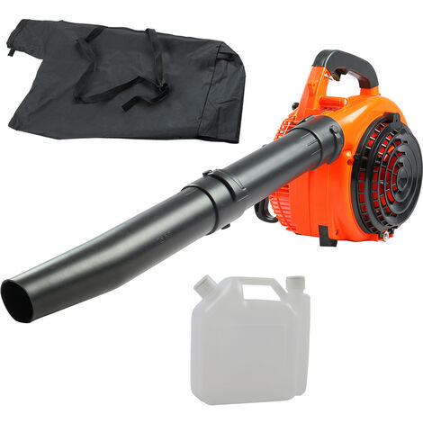 Leaf Blower Leaf Vacuum Shredder Petrol 26cc Lightweight Powerful 750W Machine