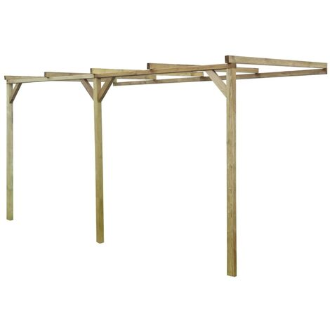 Lean-To Pergola 2x4x2.2 m FSC Wood
