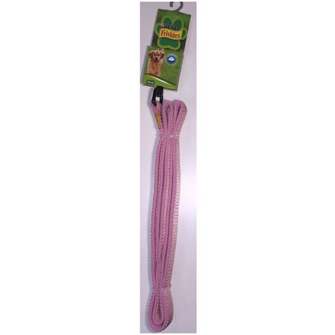 Leash 120cm pink Extra-Soft nylon - Friskies Purina