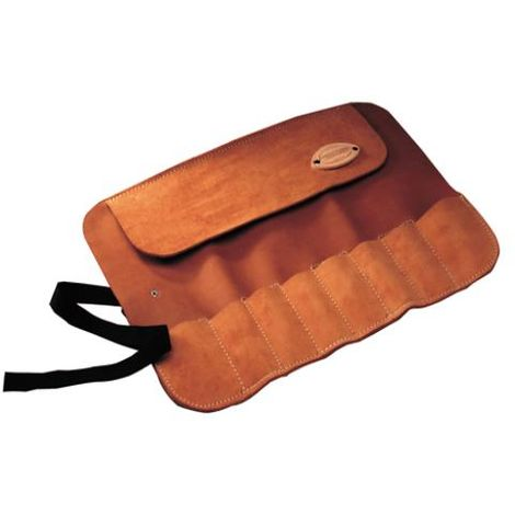 Leather Chisel Roll - 8 Pocket